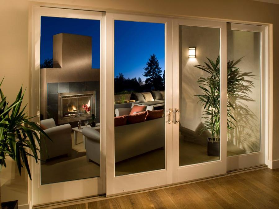Milgard® Ultra™ & WoodClad™ Series Fiberglass Patio Doors - Door And Glass Unique - PATIO DOORS
